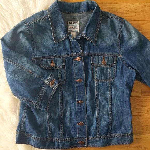 Old Navy Jackets & Blazers - Old Navy elbow length denim jacket